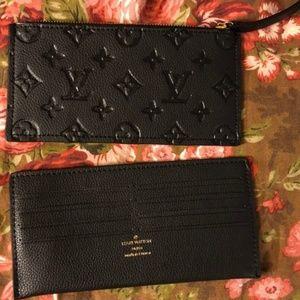 Louis Vuitton wallet & card holder